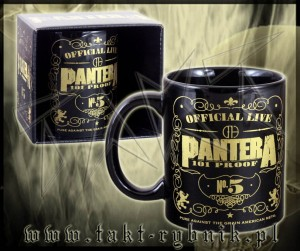 "Kubek PANTERA ""101 Proof"" black"