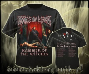 "Koszulka CRADLE OF FILTH ""Inquisitional Torture"" imp."