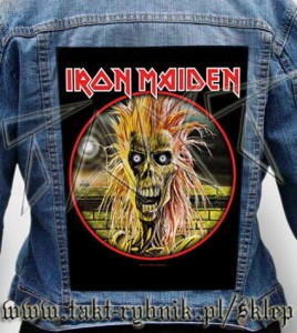 "Ekran na kurtkę IRON MAIDEN ""First Album"""
