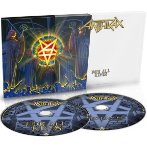"Płyta 2CD ANTHRAX ""For All Kings"" LIMITED DIGIPACK - '2016"
