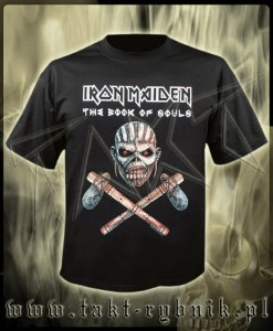 "Koszulka IRON MAIDEN ""The Book Of Souls"" 3 AXE imp."