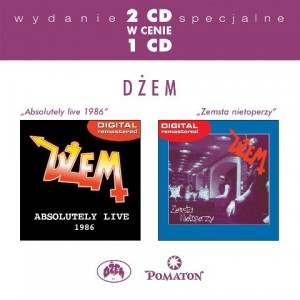 "Płyta 2CD DŻEM ""Absolutely Live 1986 / Zemsta nietopetrza"" - 2003'"