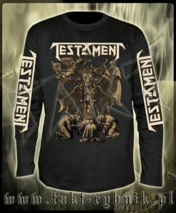 "Longsleeve TESTAMENT ""Demonarchy"" imp. ALL PRINT"