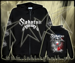 "Bluza na zamek SABATON ""Czech Republic"" ALL PRINT imp."