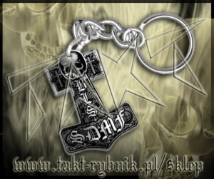 "Brelok BLACK LABEL SOCIETY ""SDMF"""