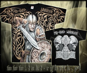 "Koszulka VIKING 49 ""Midgard Warrior"" ALL PRINT"