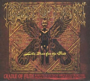 "Płyta 2CD CRADLE OF FILTH ""Live Bait For The Dead"" - 2002'"