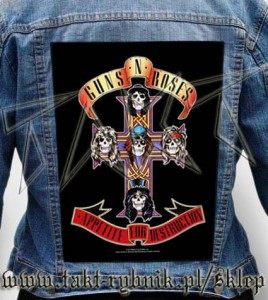 "Ekran na kurtkę GUNS'n'ROSES ""Appetite For Destruction"""
