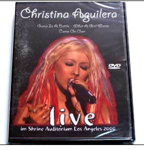 "DVD CHRISTINA AQUILERA ""Live in Los Angeles 2000"""