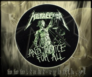 "Slipmata do gramofonu METALLICA ""... And Justice For All"""