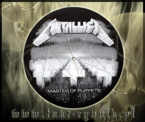 "Slipmata do gramofonu METALLICA ""Master Of Puppets"""