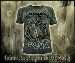 "Koszulka METALLICA ""And Justice For All"" 1 ALL PRINT imp."
