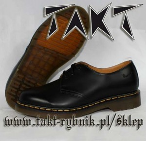 Glany 3 DR.MARTENS 1461 59 Black Smooth