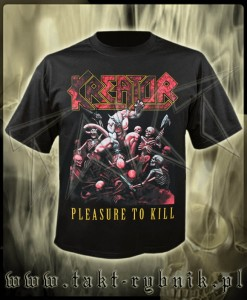 "Koszulka KREATOR ""Pleasure To Kill"" 2 imp."