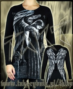 Tunika / longsleeve ANGEL all print