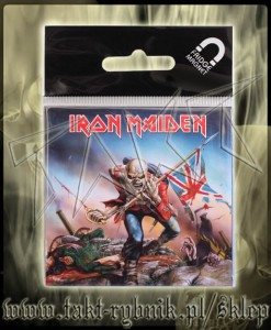 "Magnes IRON MAIDEN ""The Trooper"""