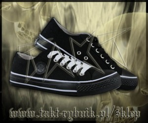 Półtrampki ALL BLACK 3 New Age r.36-46 czarne