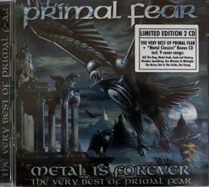 "Płyta 2CD PRIMAL FEAR ""The Very Best Of"" - 2006'"
