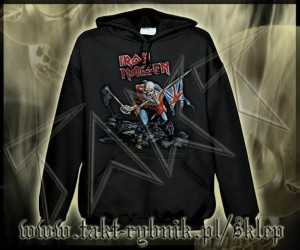 "Bluza kangurek IRON MAIDEN ""Trooper"" imp"