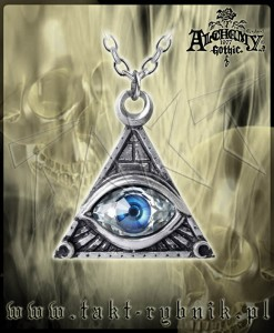Wisiorek Alchemy EYE OF PROVIDENCE