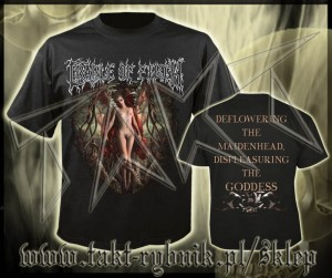 "Koszulka CRADLE OF FILTH ""Deflowering The Maidenhead"" imp."