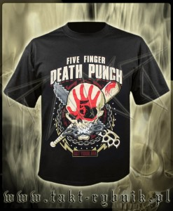 "Koszulka FIVE FINGER DEATH PUNCH ""Zombie Kill"" imp."