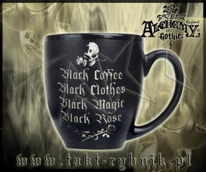 Kubek Alchemy BLACK COFFEE