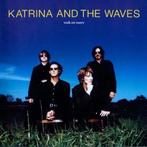 "Płyta CD KATRINA AND THE WAVES ""Walk On Water"" - 1997'"