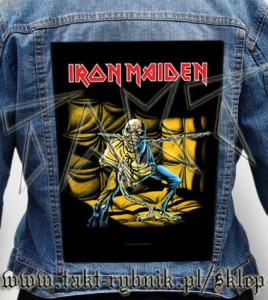 "Ekran na kurtkę IRON MAIDEN ""Piece Of Mind"""