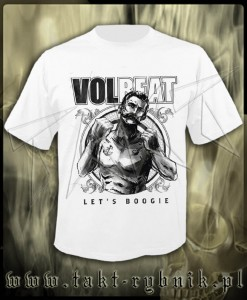 "Koszulka VOLBEAT ""Seal The Deal & Let's Boogie"" 2 WHITE imp."
