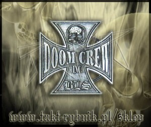 "Klamra do pasa BLACK LABEL SOCIETY ""Doom Crew Inc."""