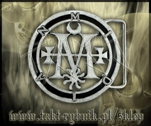 "Klamra do pasa CRADLE OF FILTH ""Midian Seal"""