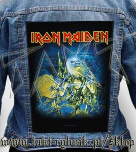 "Ekran na kurtkę IRON MAIDEN ""Live After Death"""