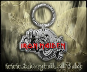 "Brelok IRON MAIDEN ""Number Of The Beast"""