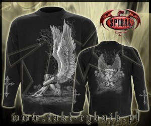 Longsleeve ENSLAVED ANGEL imp. ALL PRINT