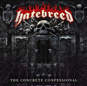 "Płyta CD HATEBREED ""The Concrete Confessional"" - 2016'"