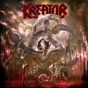 "Płyta CD KREATOR ""Gods Of Violence"" - 2017'"