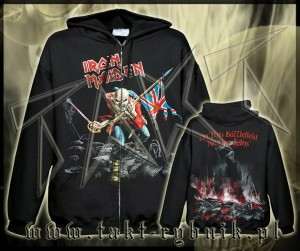"Bluza na zamek IRON MAIDEN ""The Trooper"" 2 imp."
