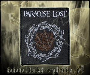 "Naszywka PARADISE LOST ""Crown Of Thorns"""
