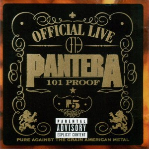 "Płyta CD PANTERA ""Official Live 101 Proof"""