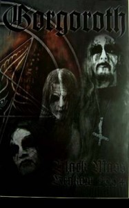 "Płyta DVD GORGOROTH ""Black Mass"" - 2008'"