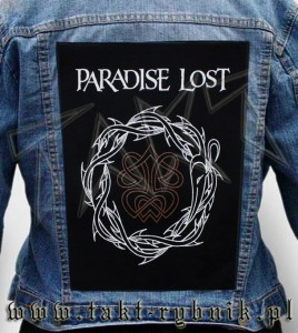 "Ekran na kurtkę PARADISE LOST ""Crown Of Thorns"""