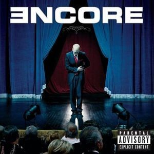 "Płyta CD EMINEM ""Encore"" - 2004'"