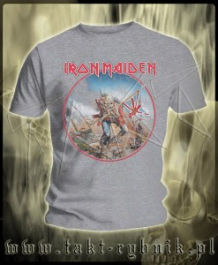 "Koszulka IRON MAIDEN ""The Trooper"" 3 GREY imp."