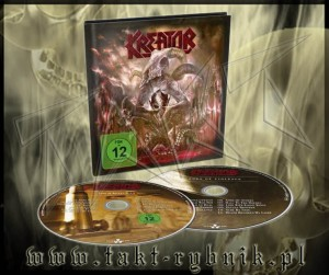"Płyta BOX KREATOR ""Gods Of Violence"" DIGIBOOK - CD+DVD"