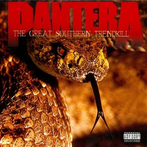 "Płyta CD PANTERA ""The Great Southern Trendkill"" - 1996'"