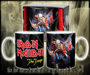 "Kubek IRON MAIDEN ""The Trooper"""