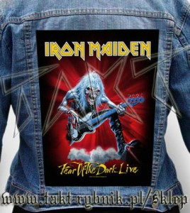 "Ekran na kurtkę IRON MAIDEN ""Fear Of The Dark - Live"""