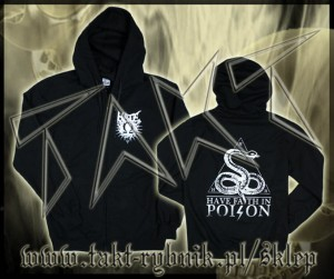 "Bluza na zamek HATE ""Have Faith In Poison"""
