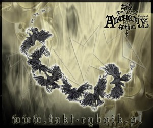 Bransoletka Alchemy FLOCKING RAVENS
